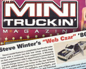 Featured in MINI Trucking magazine